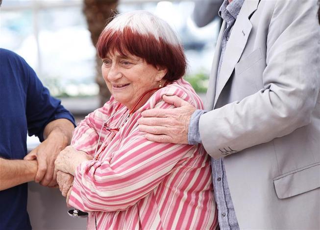 (国际)(2)法国著名女导演阿涅丝·瓦尔达去世