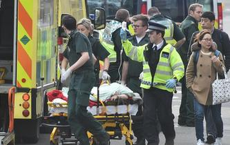 英國議會大廈附近發生襲擊事件