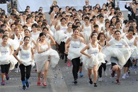 泰國曼谷:準新人賽跑