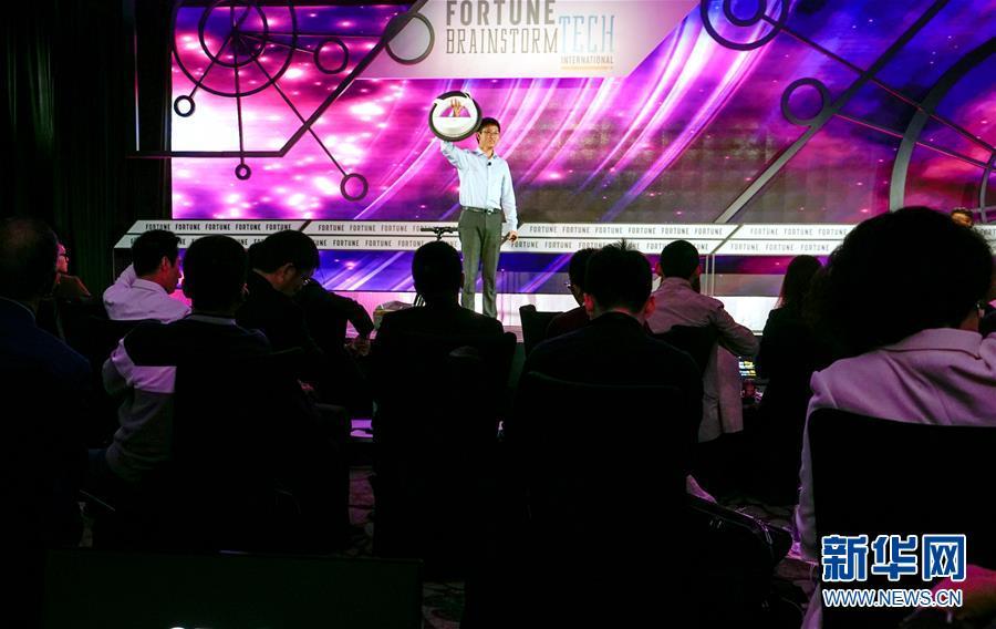 (社会)(1)国际科技头脑风暴大会在广州举行