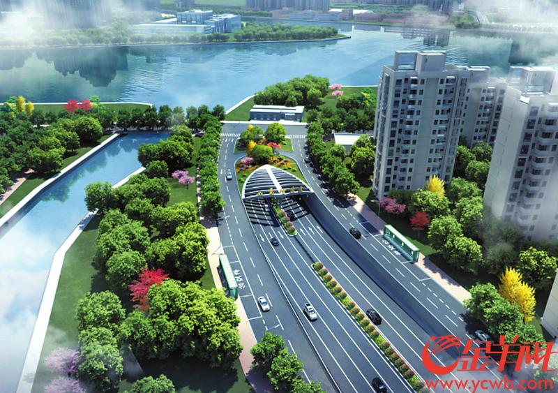 广州如意坊交通大动脉工程开工