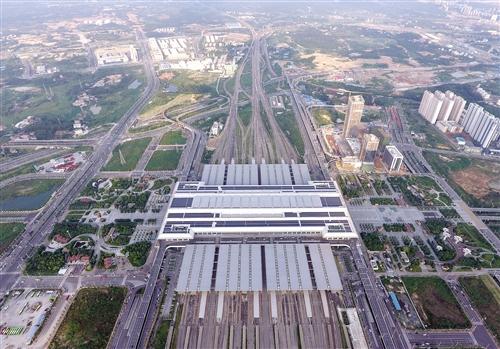 广西南宁高铁经济圈加速推动南宁建设区域性国际交通枢纽