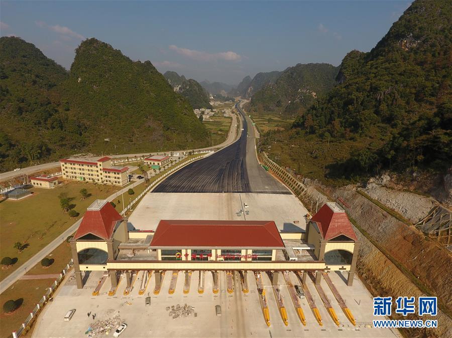 (社会)(3)中越边境靖西至龙邦高速公路预计年底通车