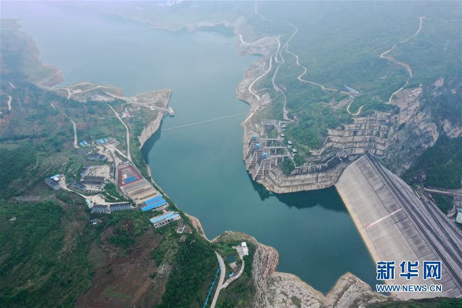(新華視界)(3)俯瞰貴州洪家渡水電站