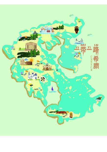 """武汉大学生手绘""""一带一路""""城市地图 精确到海岸线"""