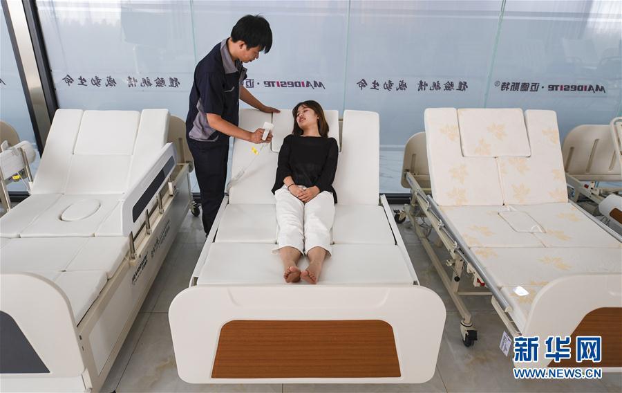 (經濟)(1)河北景縣:智慧醫療器械遠銷海外