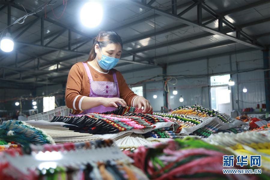#(脫貧攻堅)(1)河北南和:扶貧車間助脫貧