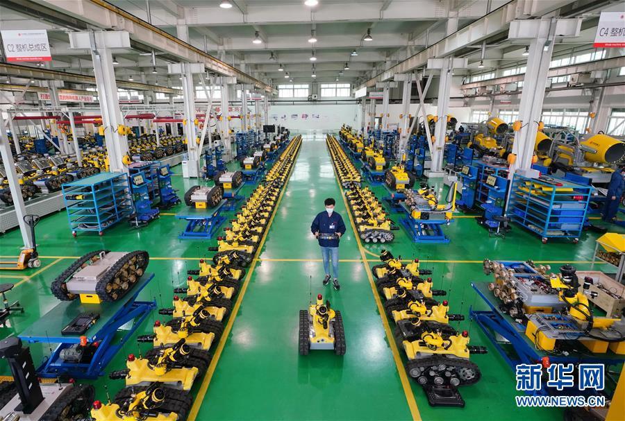 (经济)(1)河北唐山加快机器人产业发展