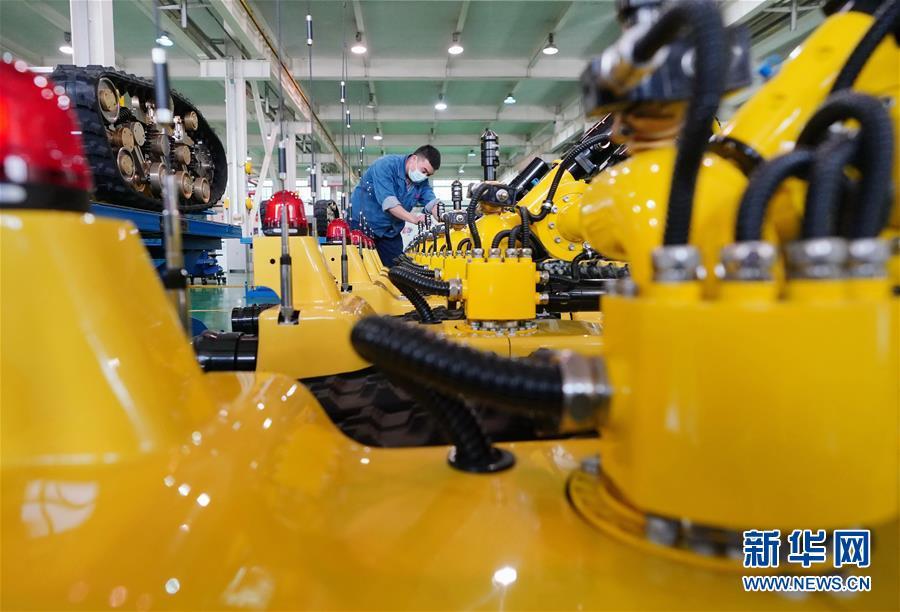 (经济)(3)河北唐山加快机器人产业发展
