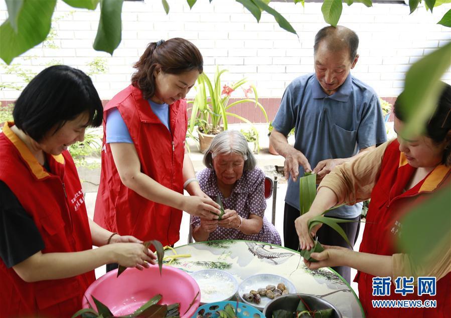 #(社会)(1)河北邢台:扶贫村里的端午节