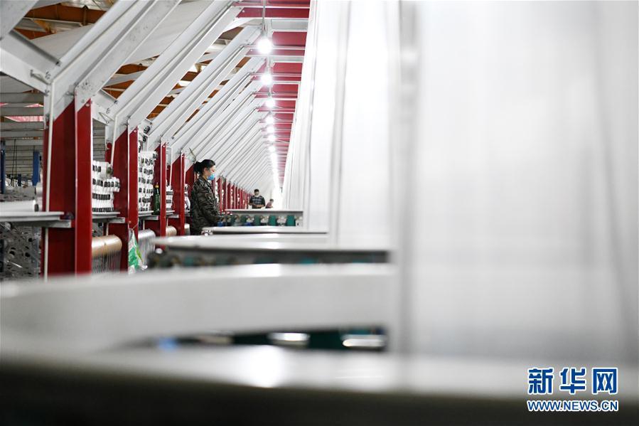 (聚焦復工復産·新華視界)(3)黑龍江寧安:積極推進企業復工復産