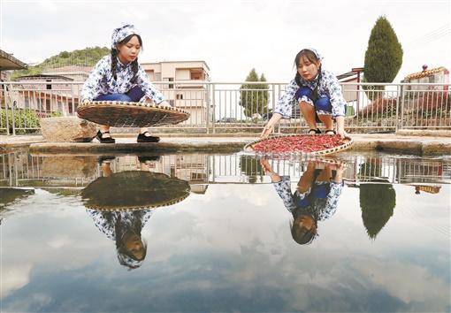 新田縣山水灣村:開發地標產品 助推古村旅游