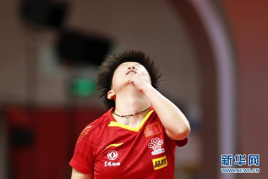 (體育)(2)乒乓球——奧運模擬賽:孫穎莎女單奪冠