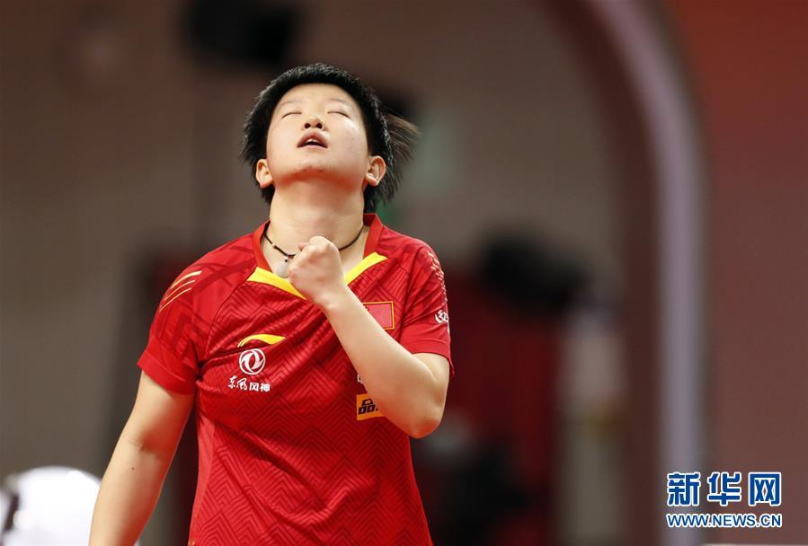 (體育)(3)乒乓球——奧運模擬賽:孫穎莎女單奪冠