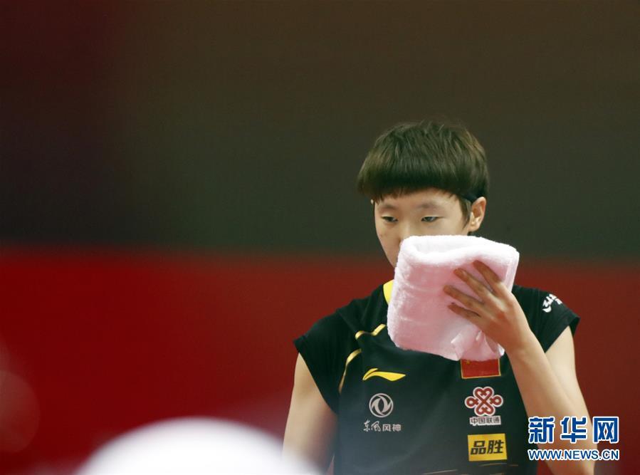 (體育)(5)乒乓球——奧運模擬賽:孫穎莎女單奪冠
