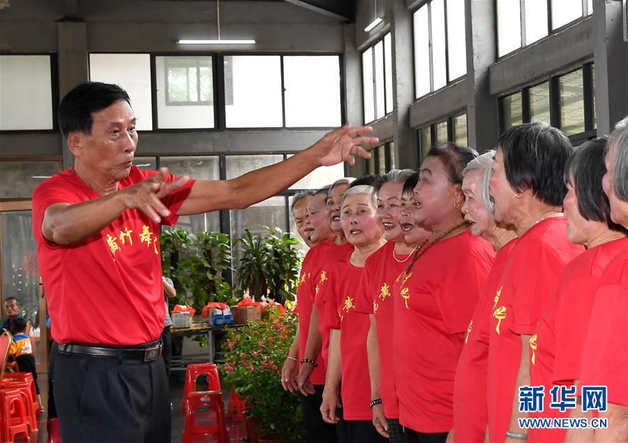 (社會)(4)海南澄邁:孝老敬親度重陽