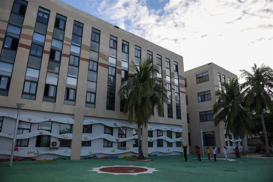探訪三沙市永興學校