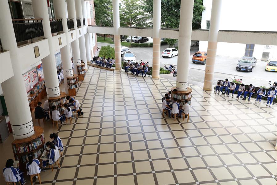海南保亭:校園裏的開放式閱讀