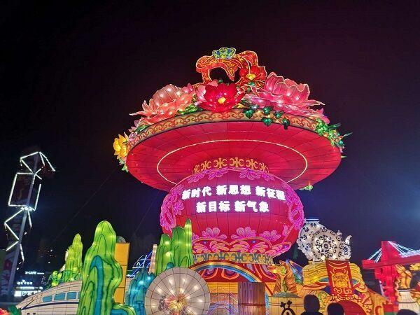 图为中国梦·走进新时代主题展