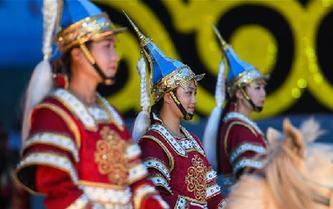 中國·呼和塔拉蒙古馬文化藝術周在呼和浩特拉開帷幕
