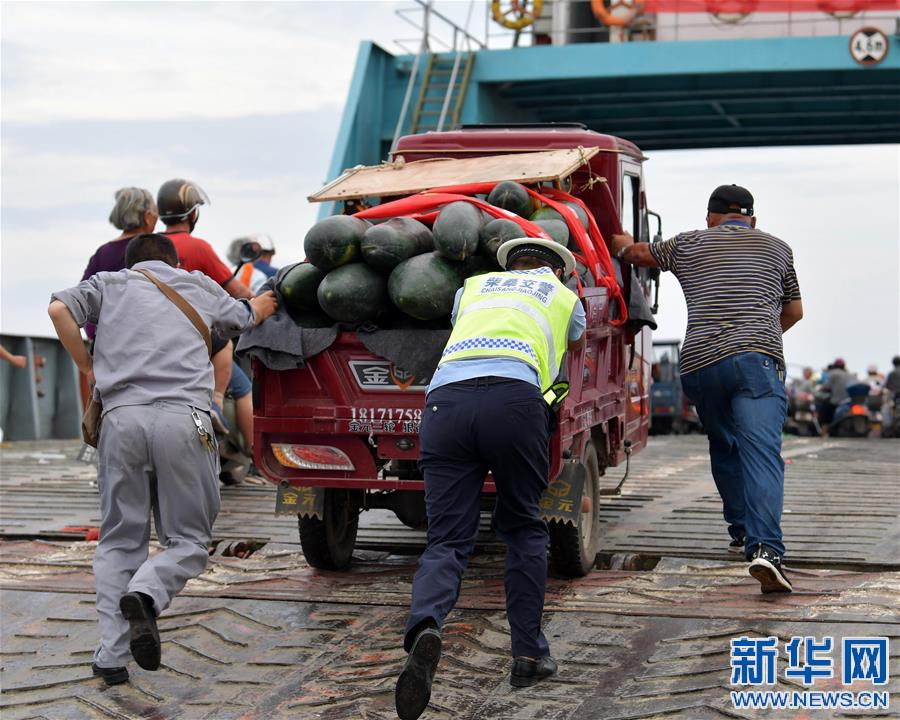 (防汛抗洪)(1)九江江新洲:部分居民有序轉移