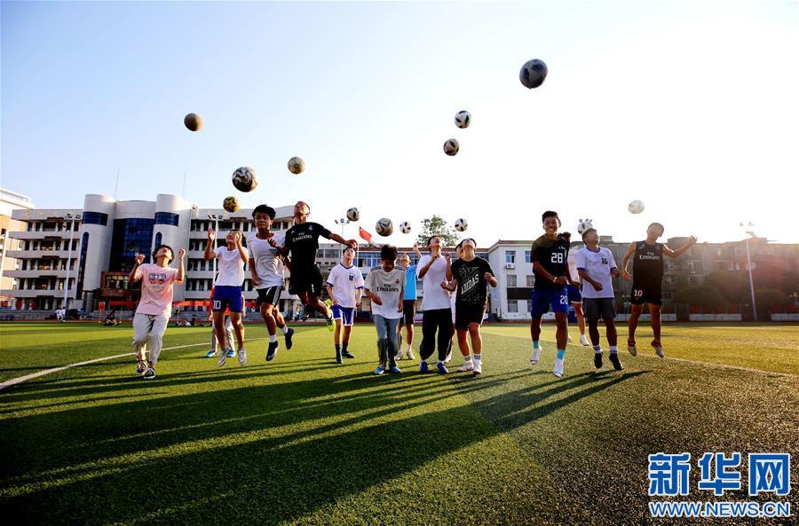 #(特別的暑期生活)(1)江西靖安:暑期足球樂