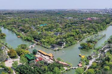 江蘇揚州:瘦西湖春意濃