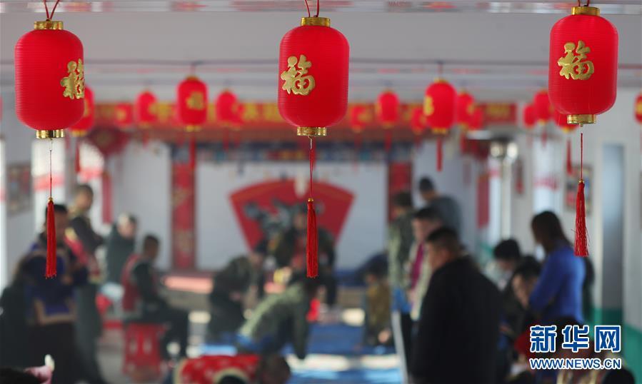 """(圖文互動)(1)抓""""嘎拉哈""""抓出新年福氣——沈陽錫伯族群眾傳承300多年民俗遊戲迎春"""