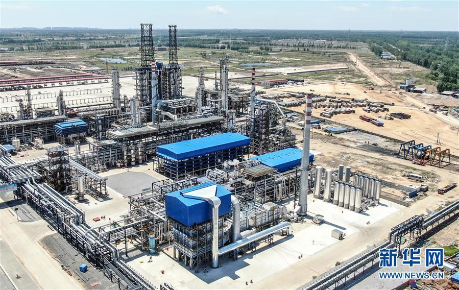 (經濟)(1)遼寧盤錦:化工企業重點項目160萬噸/年加氫裂化裝置投産