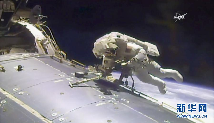 (外代一線)(2)國際空間站迎來第200次太空行走