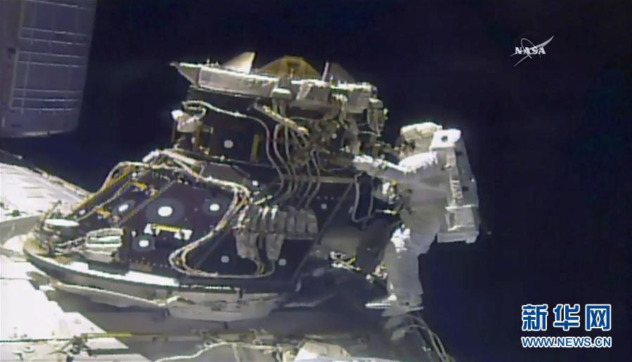 (外代一線)(3)國際空間站迎來第200次太空行走