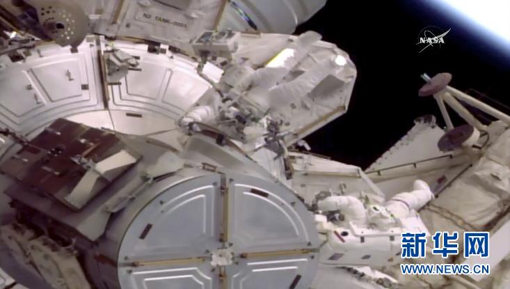 (外代一線)(1)國際空間站迎來第200次太空行走