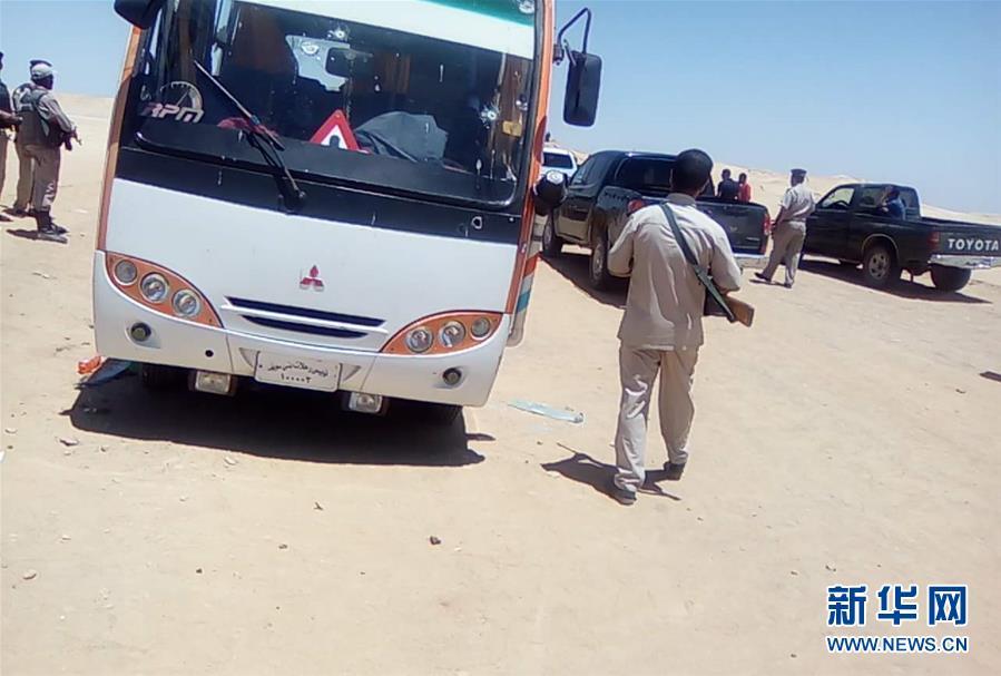 (國際)(1)埃及公交車遭槍擊造成至少26人死亡