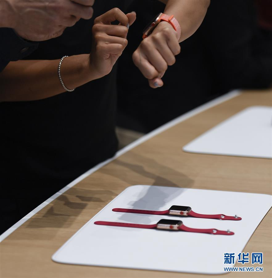 (国际)(7)苹果公司举行新产品发布会