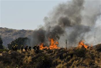 加州山火肆虐