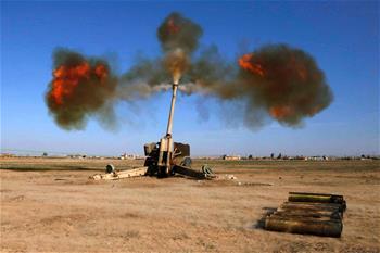 伊政府軍目標一個月拿下摩蘇爾城西