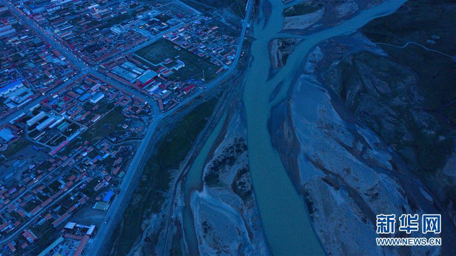 (環境)(2)青海達日:鳥瞰黃河