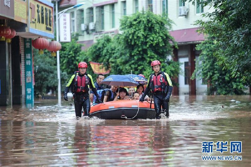 (防汛抗洪)(1)四川強降雨持續 逾10萬人受災