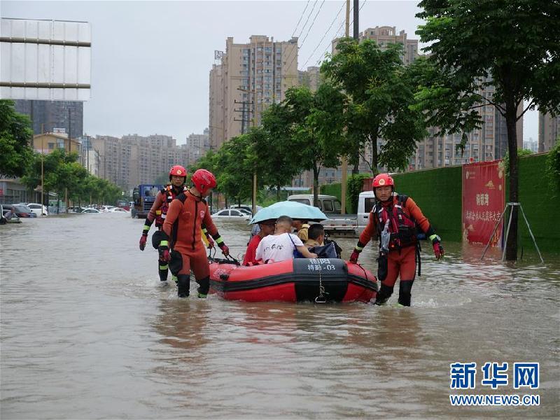 (防汛抗洪)(3)四川強降雨持續 逾10萬人受災