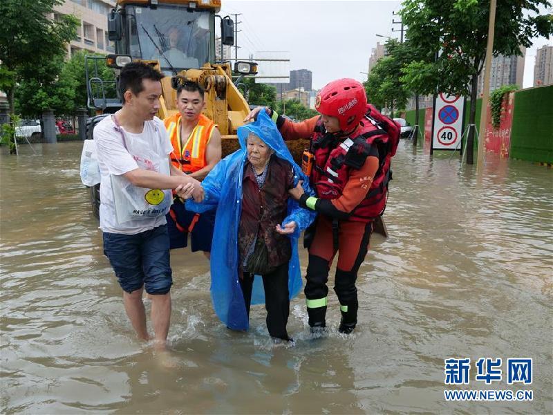 (防汛抗洪)(4)四川強降雨持續 逾10萬人受災