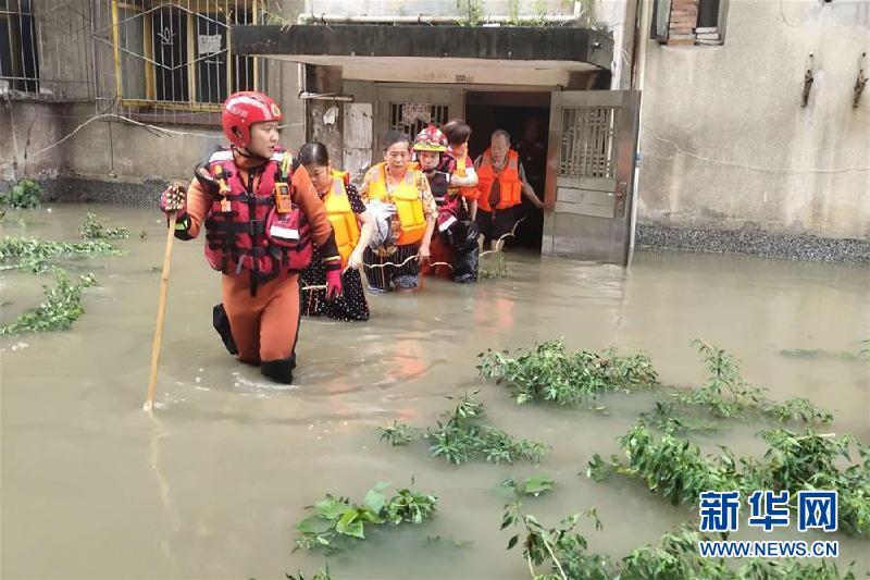 (防汛抗洪)(5)四川強降雨持續 逾10萬人受災