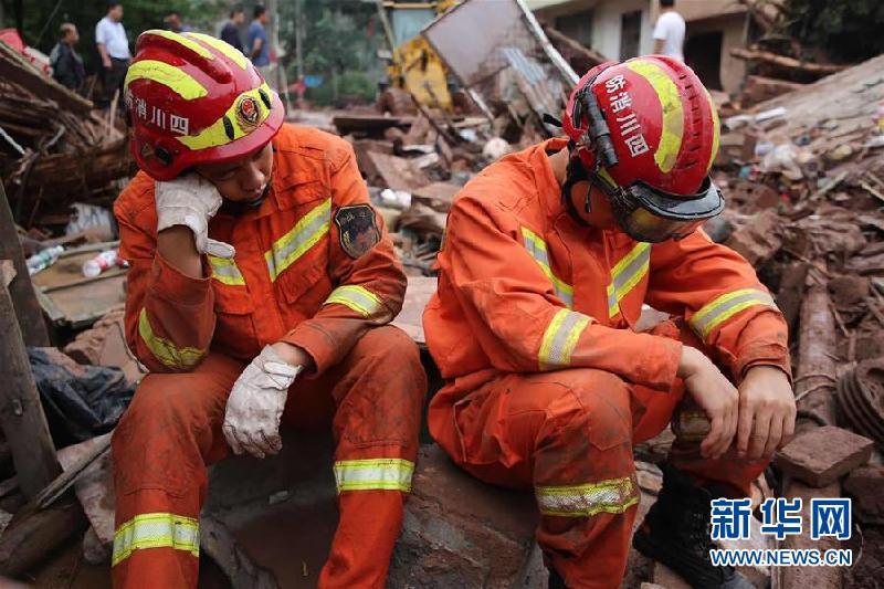(防汛抗洪)(7)四川強降雨持續 逾10萬人受災
