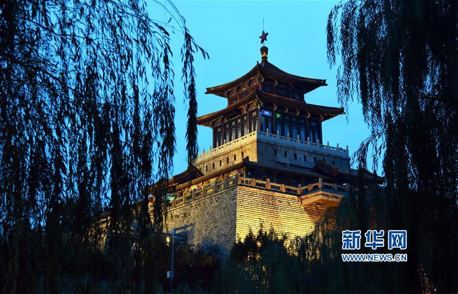 (新華視界)(1)泉城夜景