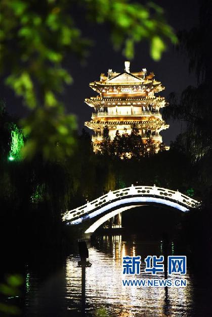 (新華視界)(4)泉城夜景