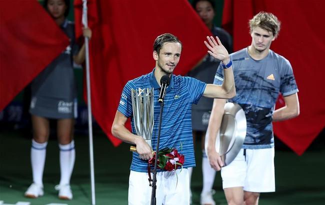 网球——上海大师赛颁奖仪式
