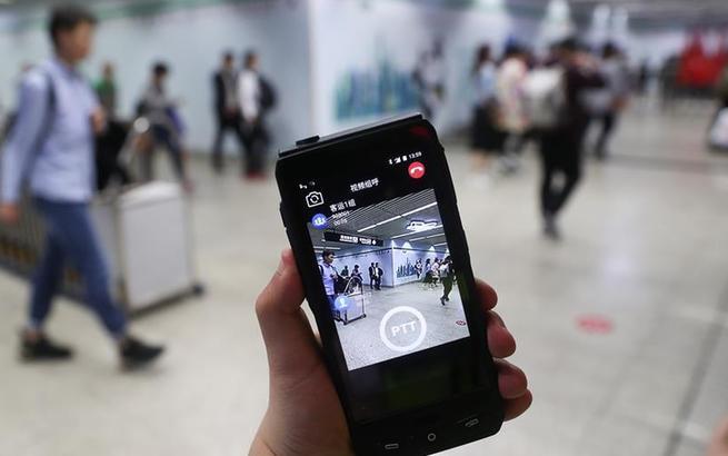 """上海地铁""""进博会5G+智慧地铁平台""""正式上线"""