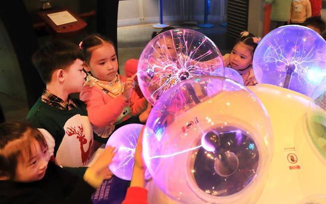 上海:科技馆里乐趣多