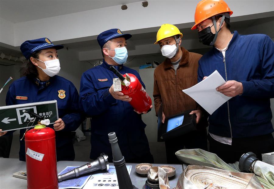 上海:消防抽查 杜绝隐患