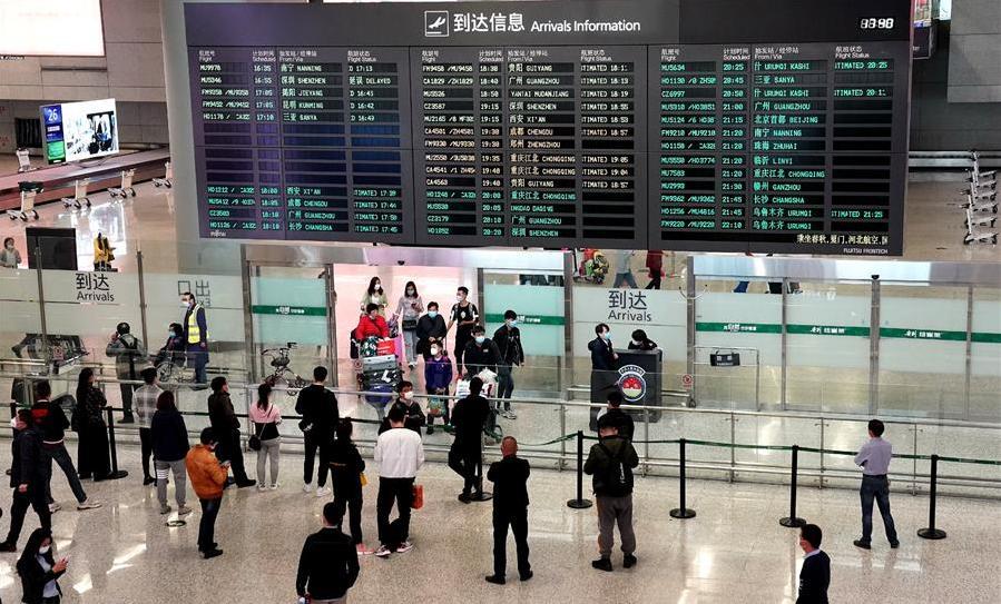 上海虹桥国际机场所有国际、港澳台航班转场至浦东国际机场运营