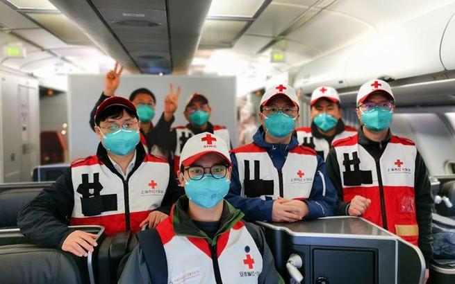 中国红十字会赴伊朗志愿专家团返沪